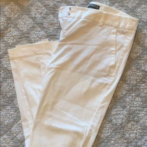 Express Columnist Pants White Size 4